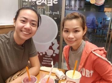 With Joanna